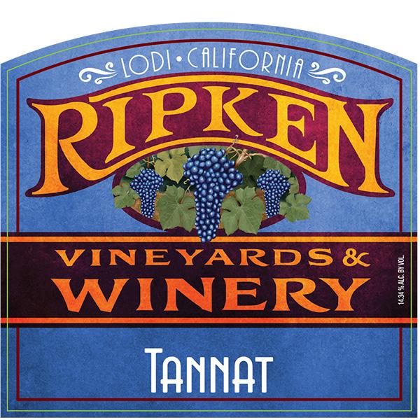Ripken Wine label for Tennant wine