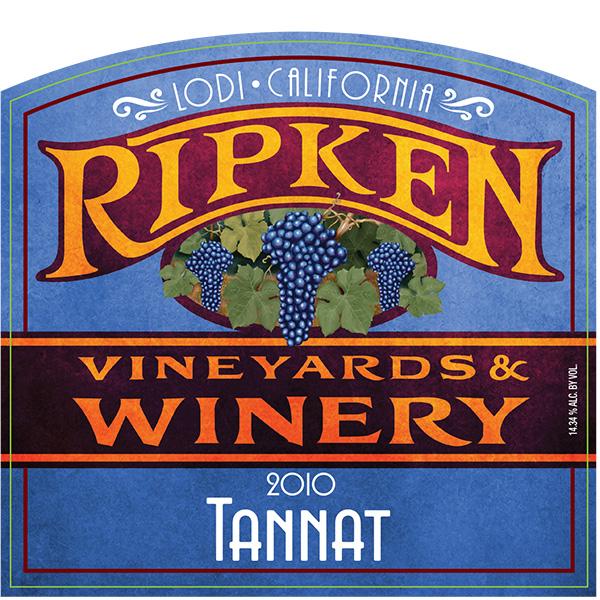 Ripken Wine label for 2010 Tannat